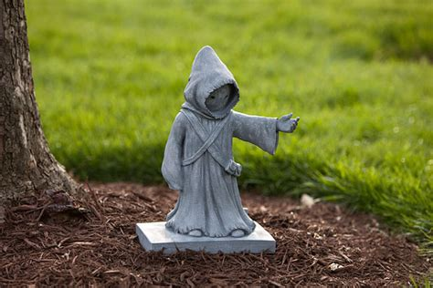 star wars homemade lawn wars jawa lawn ornament exclusive thinkgeek