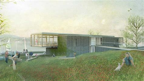 design brief of new clubhouse and cement deck ullswater yacht clubhouse cumbria lake district