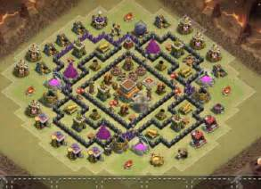 10 best th8 war base anti 3 star everything with bombtower cocbases