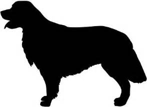 Golden Retriever Sitting Outline by 1000 Images About Clip Arts On