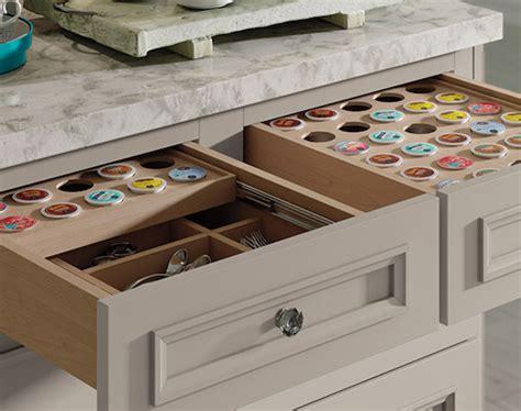 coffee pod drawer insert diy k cup drawer diy projects