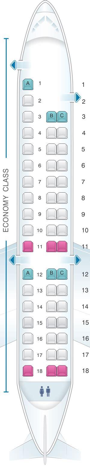 erj 145 seating seat map expressjet airlines embraer erj145 v1