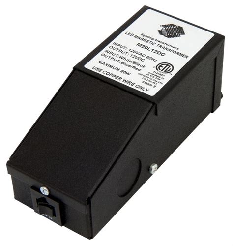 Driver Led 20 Watt 20 watt 12 volt dc hardwire dimmable magnetic constant voltage led driver by magnitude