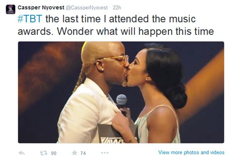 cassper nyovest and amanda du pont is cassper nyovest expecting to get a kiss from minnie