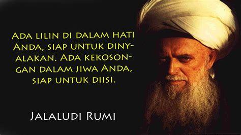 kata kata jalaluddin rumi tentang cinta ilmu tasawuf