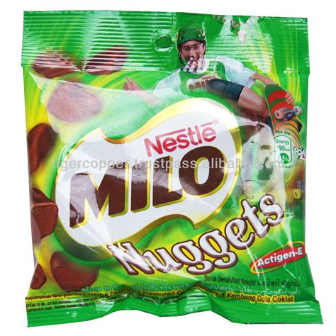 milo nuggets chocolate pack 100g nestle milo chocolate