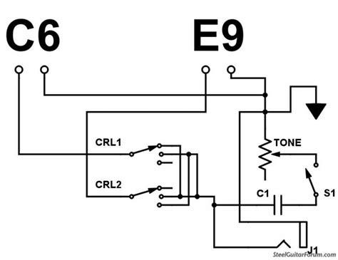 pedal steel guitar wiring diagram pedal get free image