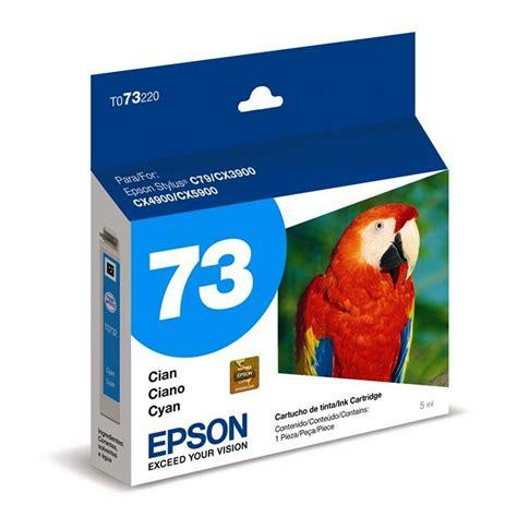 Tinta Epson 73n Bcmy Original cartucho epson t073220 cian ktronix