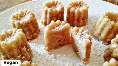 rezept mini kuchen rezept bananen mini kuchen vegan kleiner kuchensnack