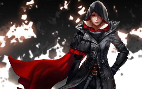 anime assassin girl wallpaper assassins creed girl wallpapers new hd wallpapers