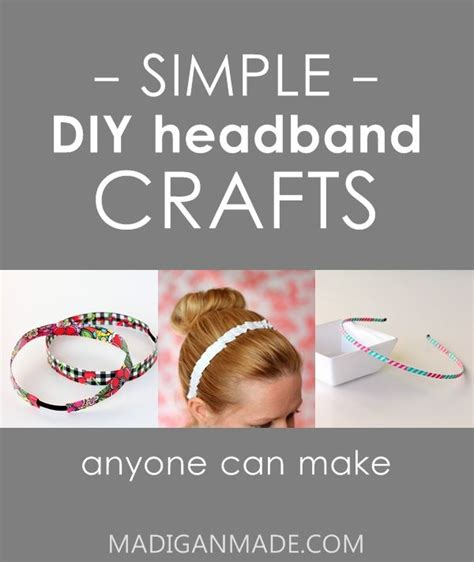 easy simple diy crafts 17 simple and easy headband crafts future projects
