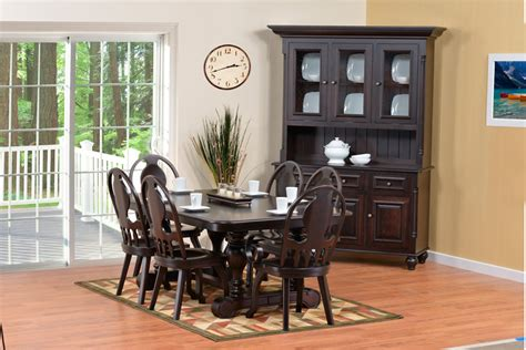 european dining room amish furniture designed