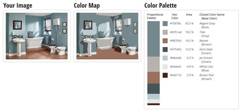 Bathroom Color Palette by Best Bathroom Colors For 2018 Based On Popularity
