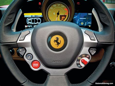 ferrari steering wheel the design of a car steering wheel