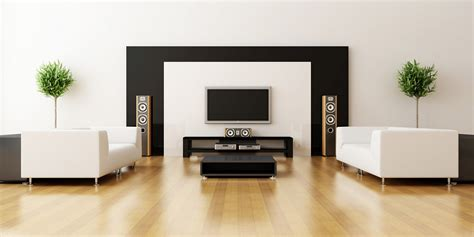 black couch living room the elegant and minimalist ideas of black and white living
