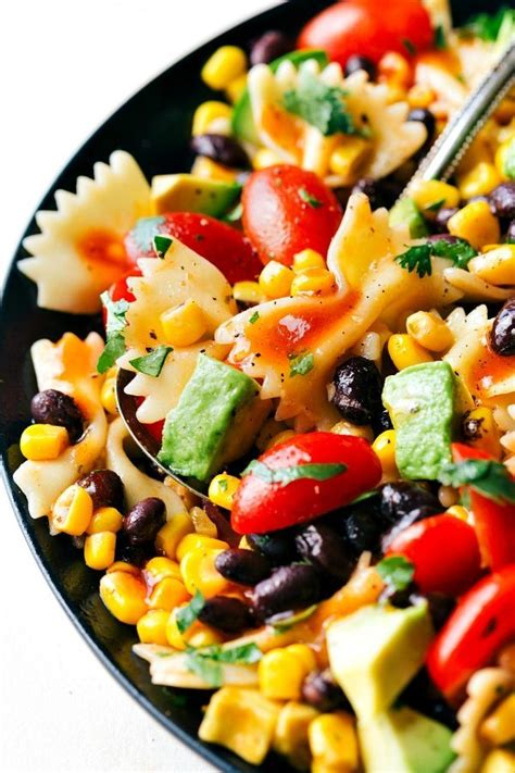 Tex Mex Pasta Salad | easy tex mex pasta salad chelsea s messy apron