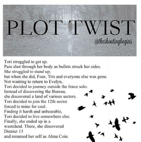 the hunger plot twist by for my thought on 32 best images about plot twists on tfios not