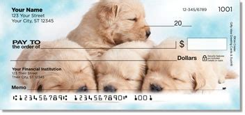 golden retriever personal checks golden retriever checks golden retriever personal checks checkspressions