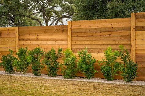 fences for houses designs diy horizontal privacy fence designs