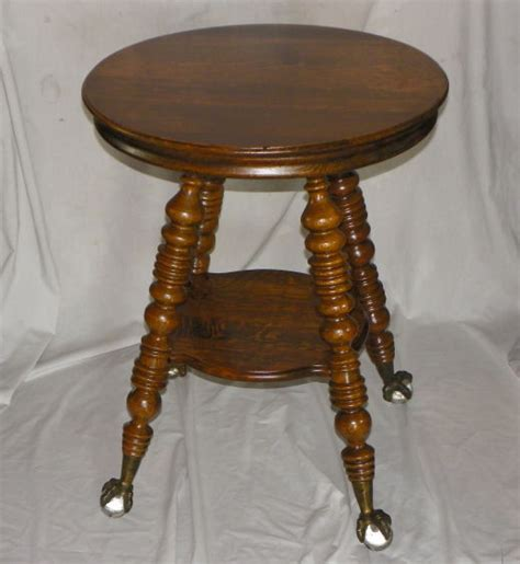 claw table with glass balls in the claw bargain s antiques 187 archive antique oak