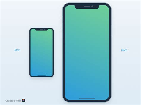 Iphone Wireframe Template by Iphone X Mockup For Figma Uxfree