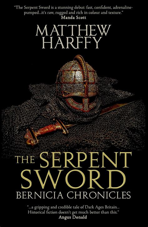 of and blood sword and serpent book iii books with author matthew harffy charlene newcomb