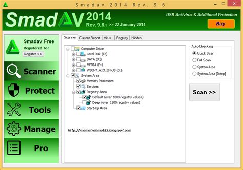Antivirus Berbayar smadav 2014 rev 9 8 1 versi terbaru gratis mr 85 computer solution