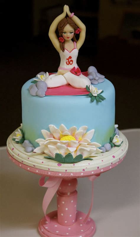 Home Decorating Blogs Best top yoga inspired cakes cakecentral com