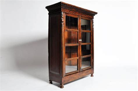 teak wood bookcase for sale at 1stdibs
