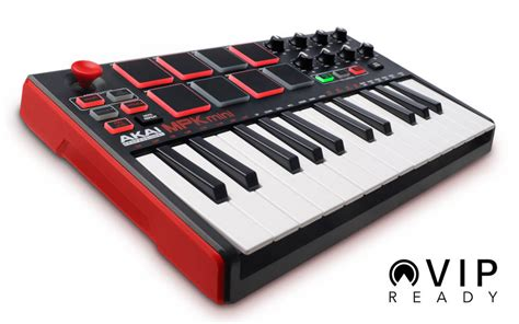 Mini Ii akai mpk mini ii 25 note keyboard drum pad controller