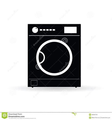 washing machine vector stock vector image