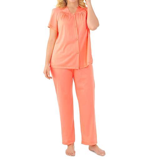 Vanity Fair Pajamas by Vanity Fair 90107 Coloratura Vintage Pajama Set Ebay