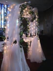 how to decorate a wedding arch all about wedding