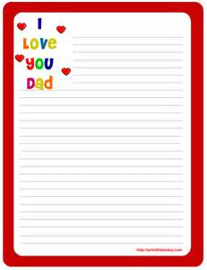 letter pad note pad stationery free printables for