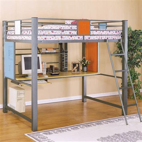 Kid Bunk Beds With Desk Set The Bedroom With The Bunk Bed With Desk To Save Space Midcityeast
