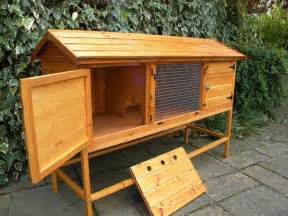 Rabbit Hutch Stand hutch 6ft on stand wooden rabbit hutch