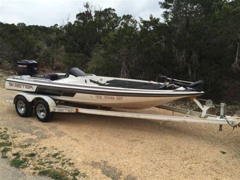 used bass boats austin texas 1995 20 skeeter bass boat w 200 mercury motor for sale