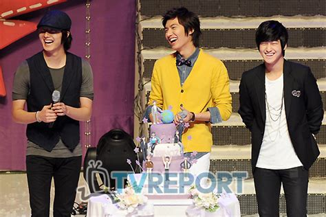 recount text biography lee min ho photos lee min ho jung il woo bff best friend forever