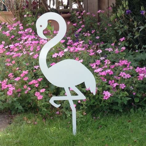 backyard ornaments metal flamingo garden ornament auradecor