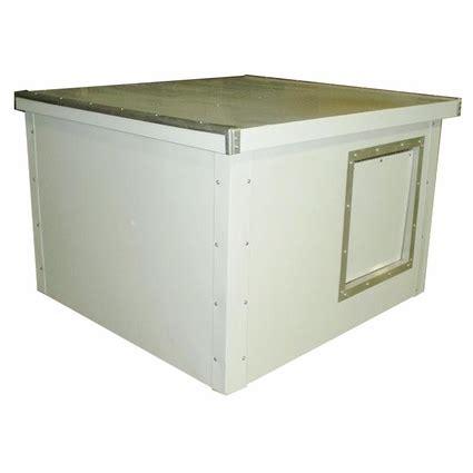 dog house kit medium lifesaver cube dog house kit by deer creek business 279 95 free shipping us48