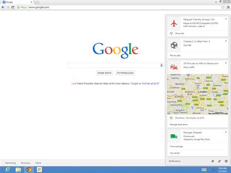 chrome mac google now cards now rolling out on desktop in chrome for mac