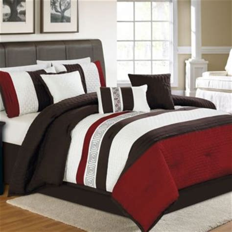 red black and white comforter set buy black and white comforter sets queen from bed bath