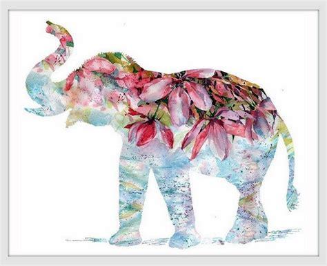 elephant art print decor head drawing tumblr wall