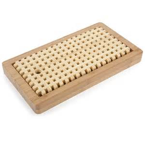 Coffee Kitchen Decor Ideas bamboo bread board with crumb catcher the green head