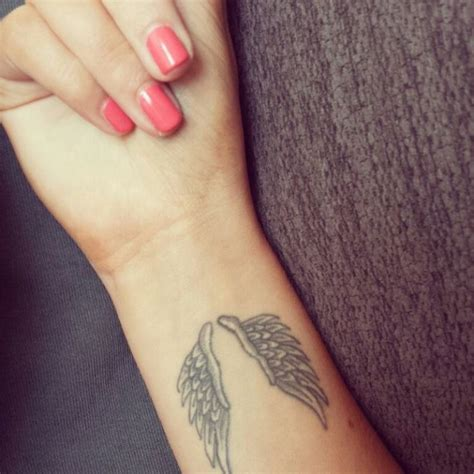 angel wings wrist tattoo 28 wings tattoos on wrists
