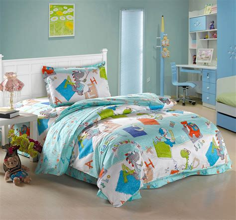 cute twin comforter sets little cute dinosaurs for kids 100 cotton comforter cover