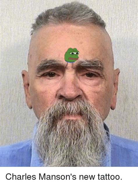 charles manson tattoo charles memes of 2016 on sizzle anthony