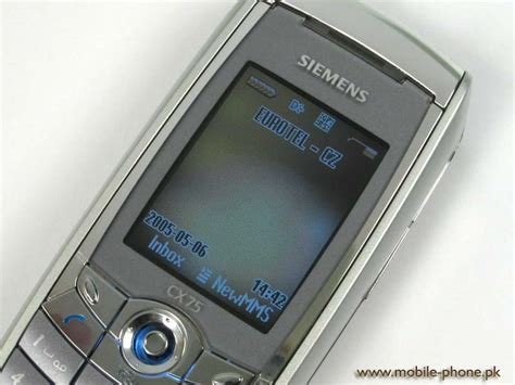 siemens mobile siemens cx75 price pakistan mobile specification