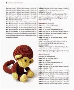 handmade world crochet johnny the monkey