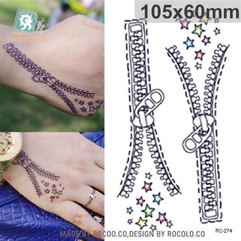 tattoo design zip popular zipper tattoos buy cheap zipper tattoos lots from